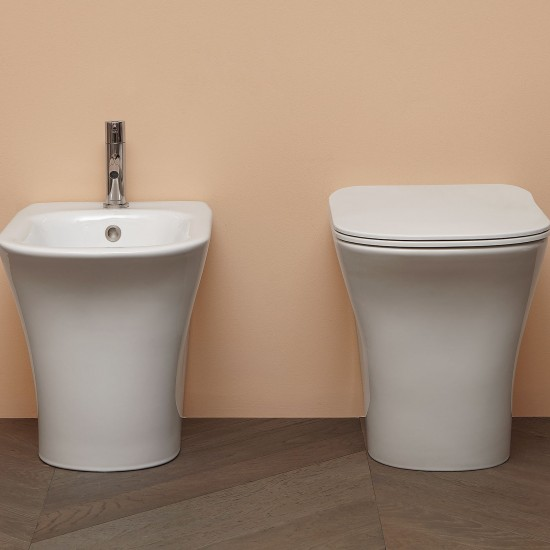 CABO22 Antonio Lupi High Gloss Ceramic Bidet