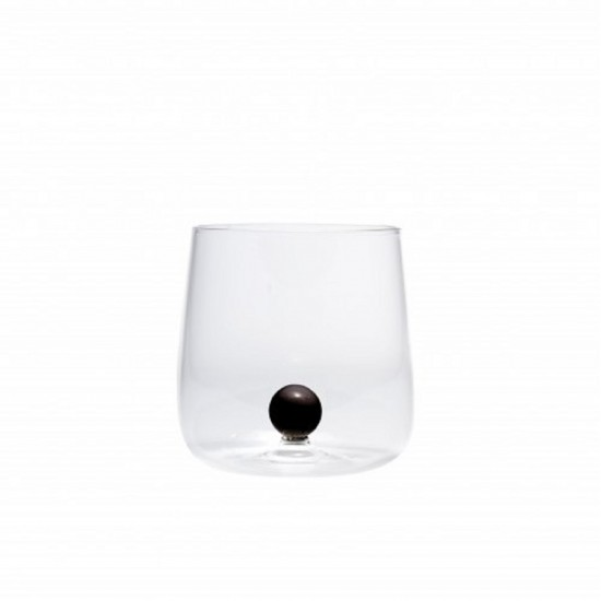 Zafferano Bilia Set 6 Glass Black