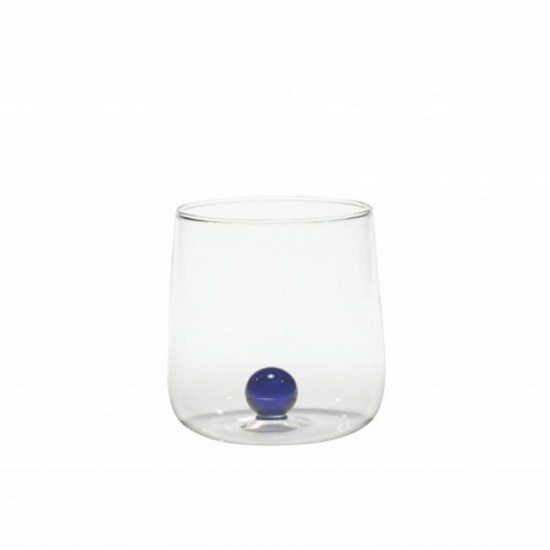 Zafferano Bilia Set 6 Glass Blue
