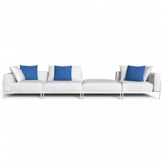 Talenti Cleo Soft Alu divano modulare