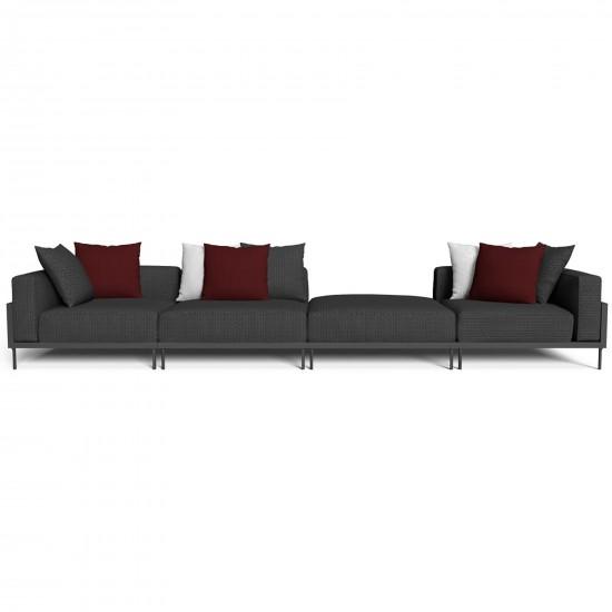 Talenti Cleo Soft Alu modular sofa