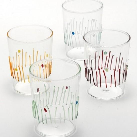 Zafferano 4 Stagioni Set 4 Glasses