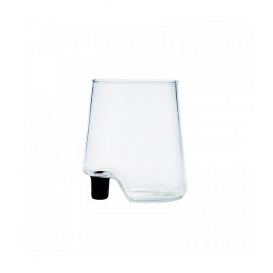 Zafferano Gamba de Vero Set 6 Glass Black