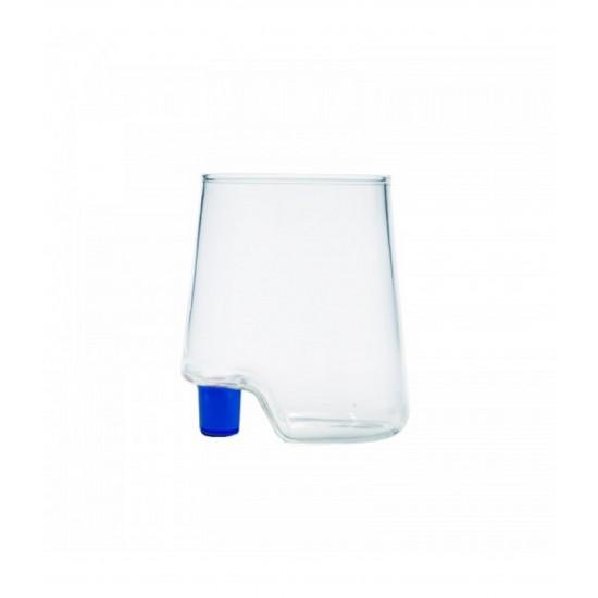 Zafferano Gamba de Vero Set 6 Glass Blue