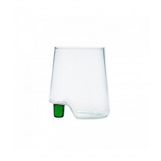 Zafferano Gamba de Vero Set 6 Glass Green