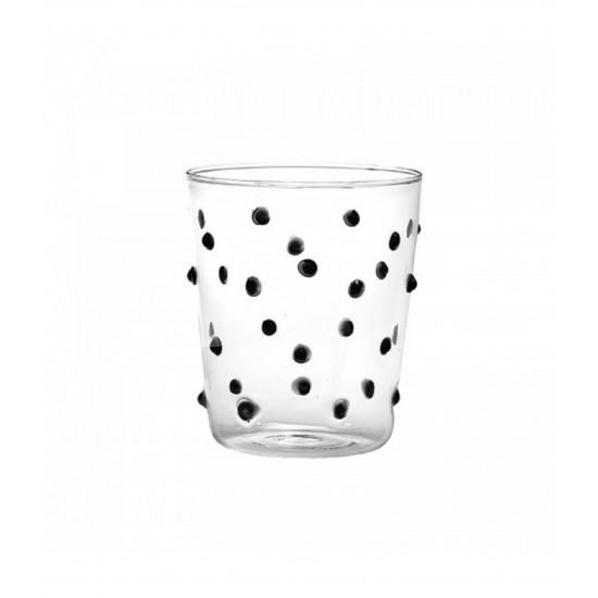 Zafferano Party Set 6 Glass Black