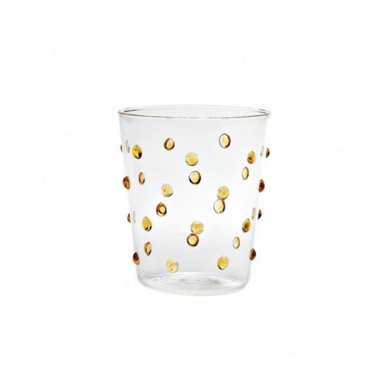 Zafferano Party Set 6 Bicchieri Giallo Oro