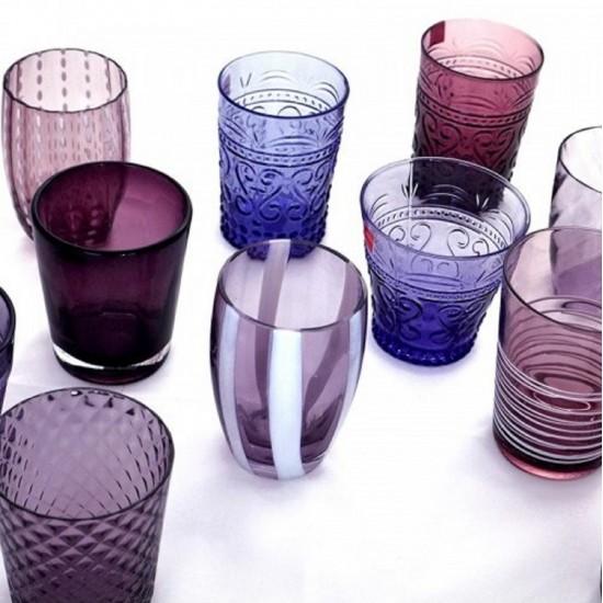 Zafferano Melting Pot Set 6 Bicchieri Ametista