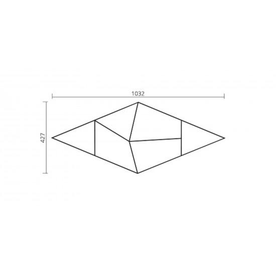 Foglie D'Oro Modulo Design Frammenti