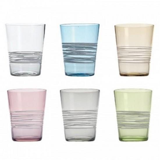 Zafferano Filante Set 6 Bicchieri Assortiti