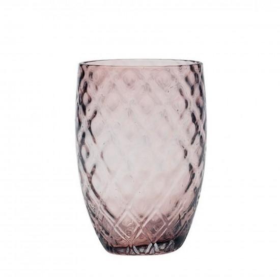 Zafferano Losanghe Set 6 Glass Amethyst