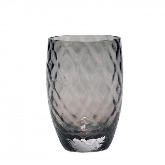 Zafferano Losanghe Set 6 Bicchieri Grigio