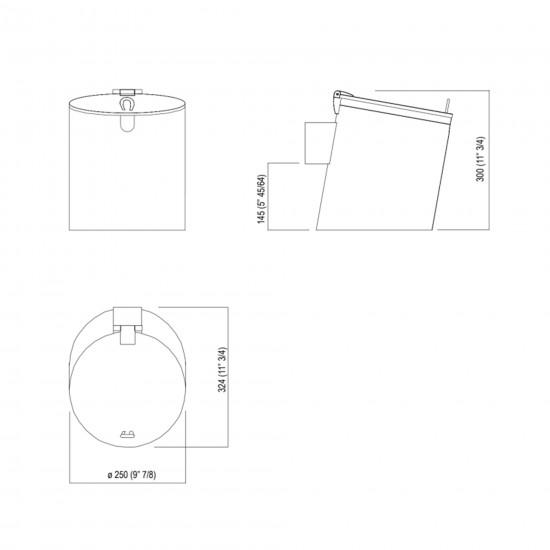 Agape Midi Basket Contenitore