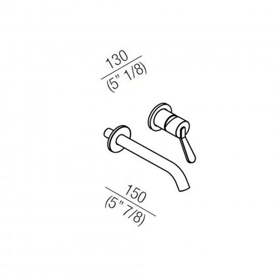 Agape Fez 2 Miscelatore Monocomando