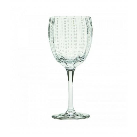 Zafferano Perle Set 2 Bicchiere Vino Trasparente