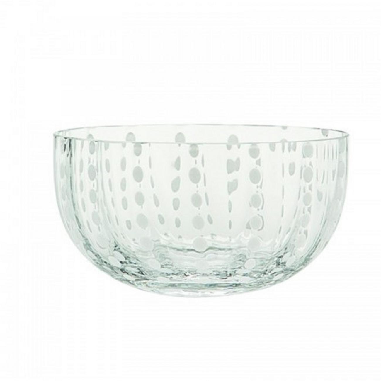 Zafferano Perle Bowl Clear