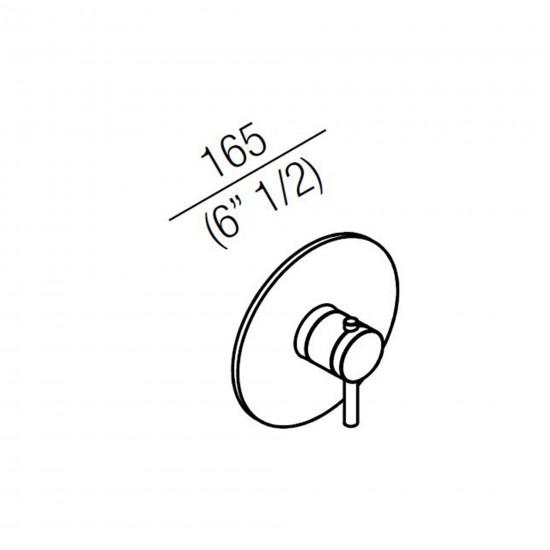 Agape Fez 2 Miscelatore monocomando termostatico