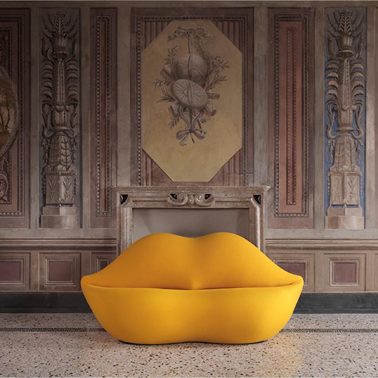 Gufram Bocca Sofa Unlimited YELLOW 109