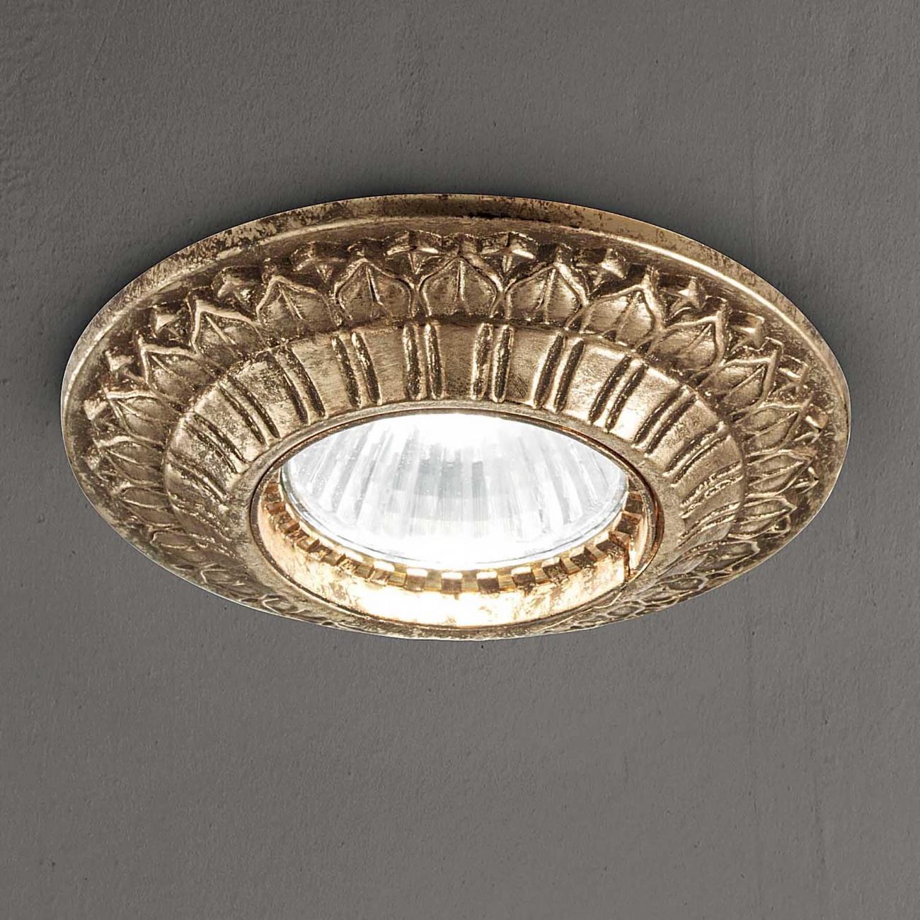 Masiero Atelier Brass & Spots ceiling lamp