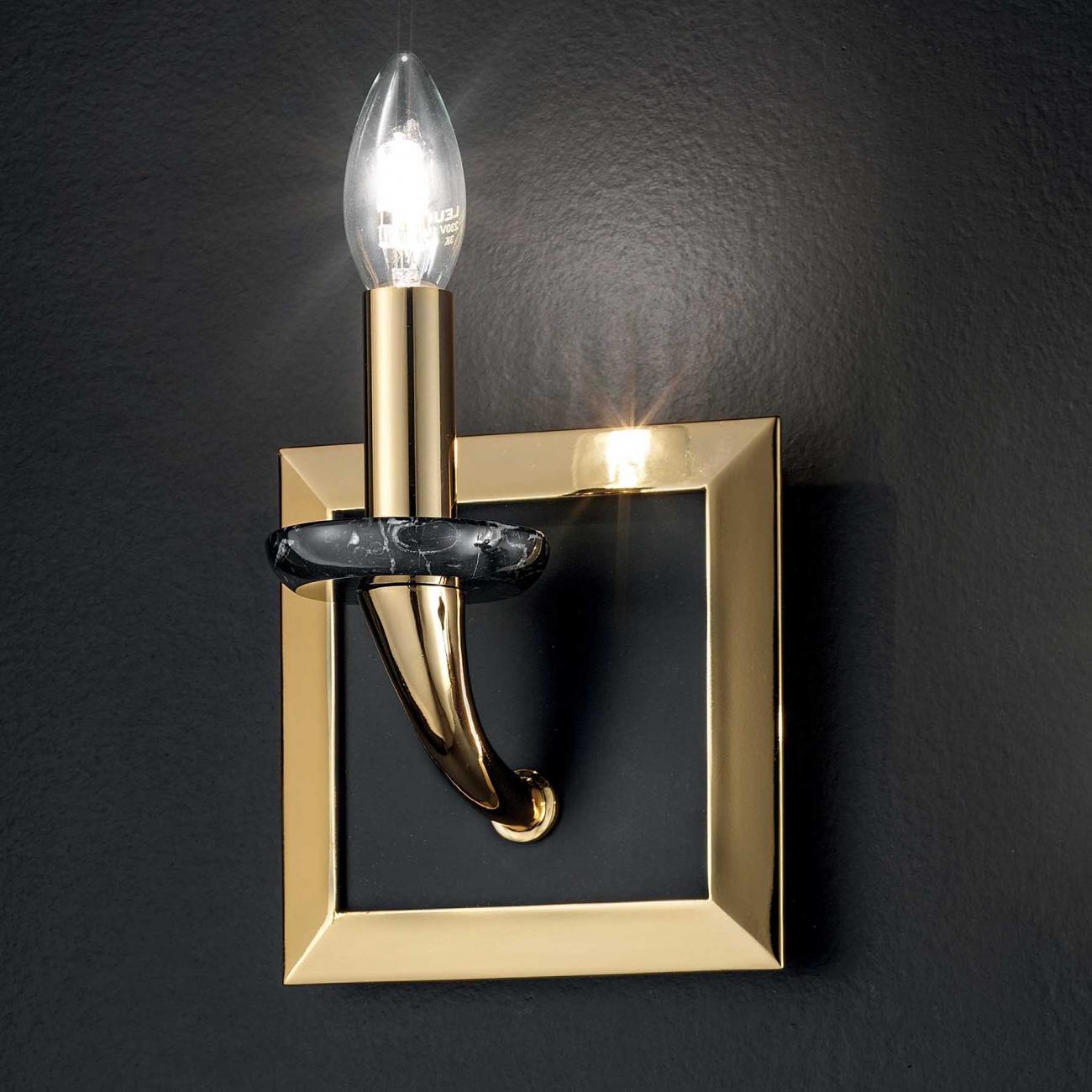 Masiero Atelier Brass & Spots wall-mounted lamp