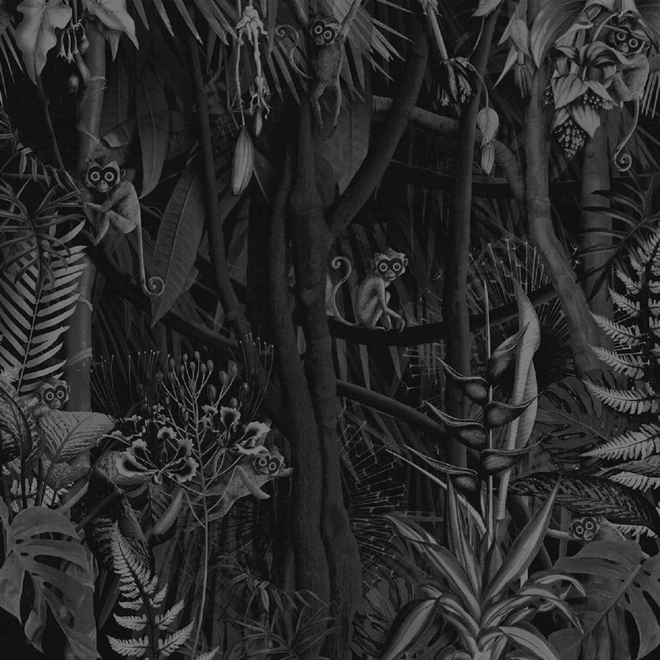 Carta Da Parati London Art.London Art Looks In The Forest Wallpaper Tattahome