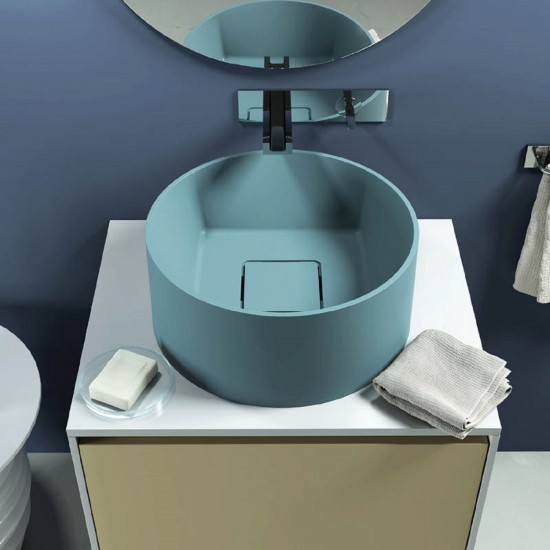 RELAX DESIGN INSIDE OUT C SQUARE LUXOLID WASHBASIN