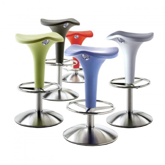 REXITE ZANZIBAR STOOL WITH GAS LIFT ADJUSTABLE HEIGHT