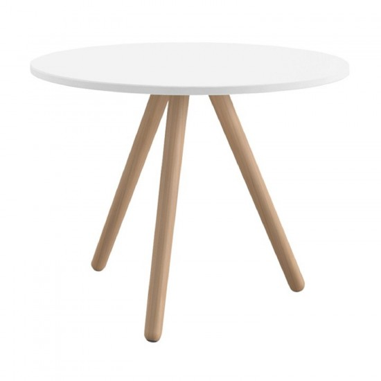 REXITE WOODY ROUND SIDE TABLE