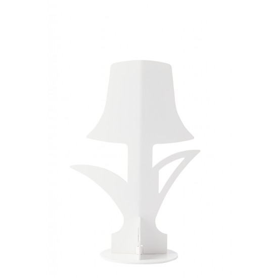 ĀHUA DESIGN LAMPADA DA TAVOLO BLOOM BIANCA