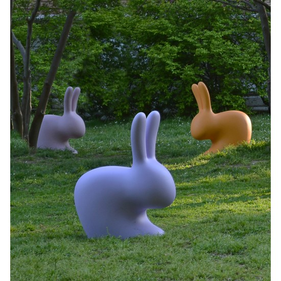 QEEBOO RABBIT CHAIR LIGHT GREY