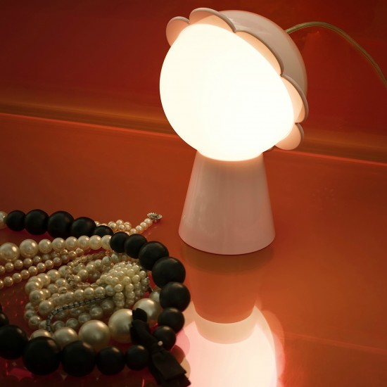 QEEBOO DAISY LAMPADA DA TAVOLO BLACK