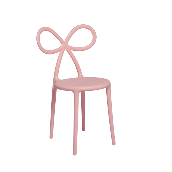 QEEBOO RIBBON CHAIR SET PINK