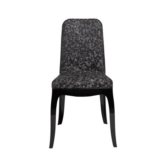 QEEBOO B.B. CHAIR TRIANGULAR BLACK