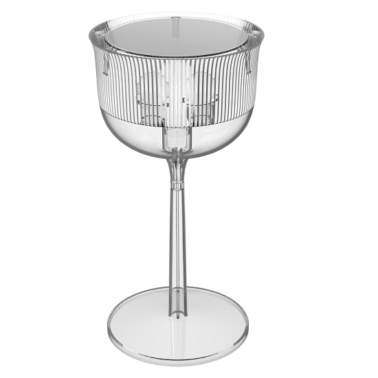 QEEBOO GOBLETS TABLE LAMP MEDIUM TRANSPARENT