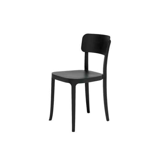 QEEBOO K CHAIR SEDIA BLACK