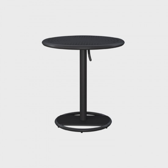 MAIORI KOSE ROUND BISTROT TABLE CHARCOAL