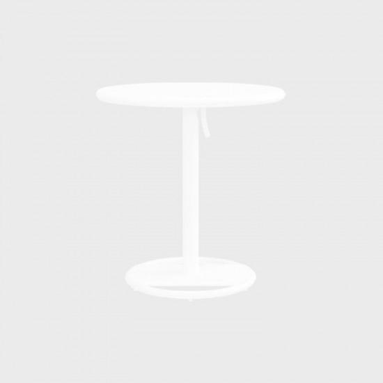 MAIORI KOSE ROUND BISTROT TABLE WHITE
