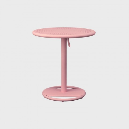 MAIORI KOSE ROUND BISTROT TABLE MISTY ROSE