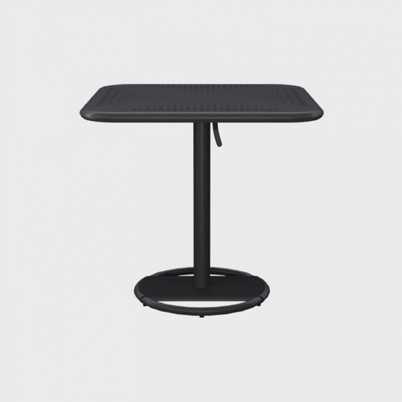 Maiori kose square bistro table charcoal tattahome maiori kose square bistro table charcoal watchthetrailerfo
