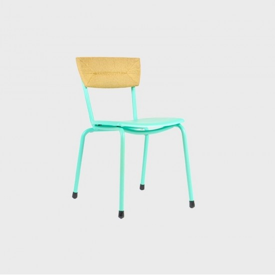 MAIORI MICA WOVEN CHAIR BISCAY GREEN