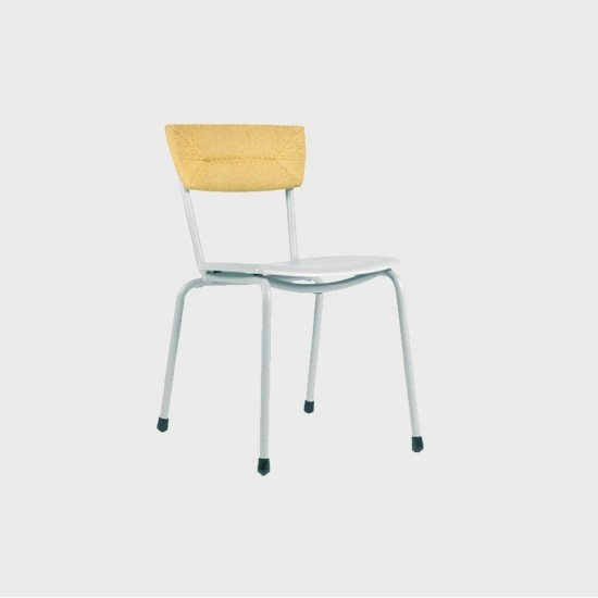 MAIORI MICA WOVEN CHAIR FROSTY GREY