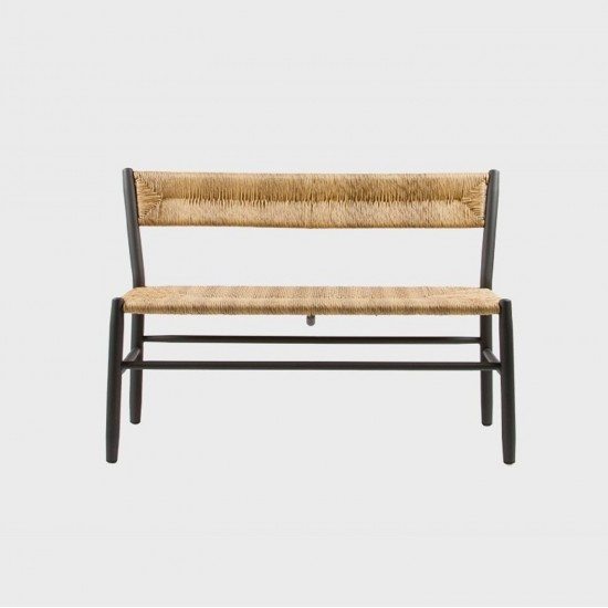 MAIORI STIPA BENCH WITH BACKREST
