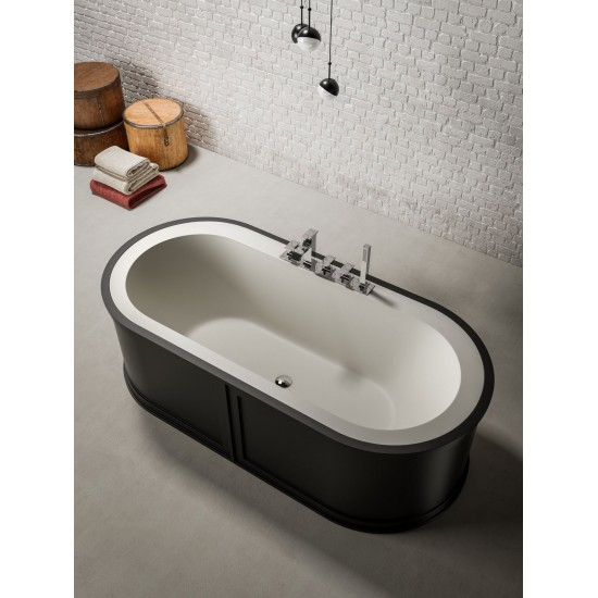 BLUBLEU PAYDAY FREESTANDING OVAL BATHTUB