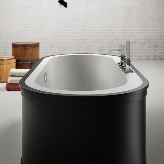 BLUBLEU PAYDAY FREESTANDING OVAL BATHTUB