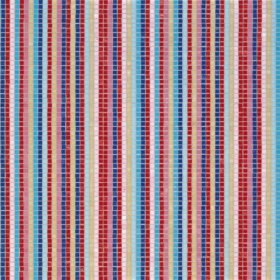 BISAZZA DECORI MOSAICO STRIPES SUMMER