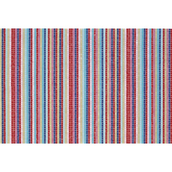 BISAZZA DECORATION MOSAIC STRIPES SUMMER