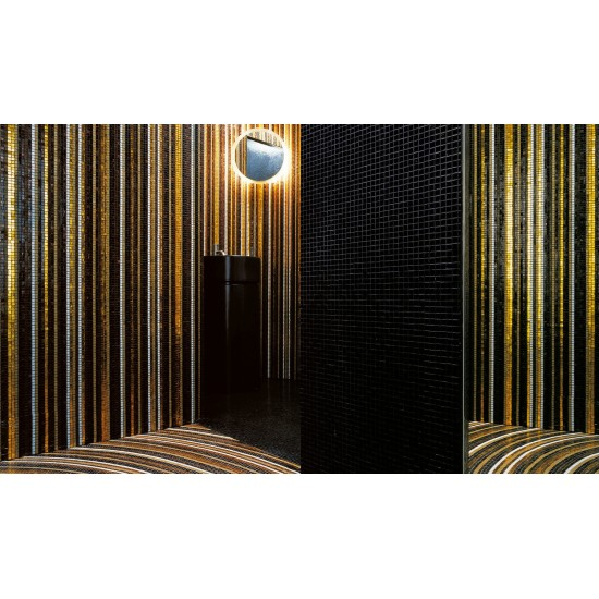 BISAZZA DECORATION MOSAIC STRIPES FALL