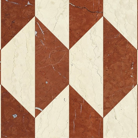 BISAZZA MARBLE COLLECTION AURELIA ROSSO