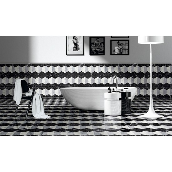 BISAZZA MARBLE COLLECTION DOMIZIANA BASALTO