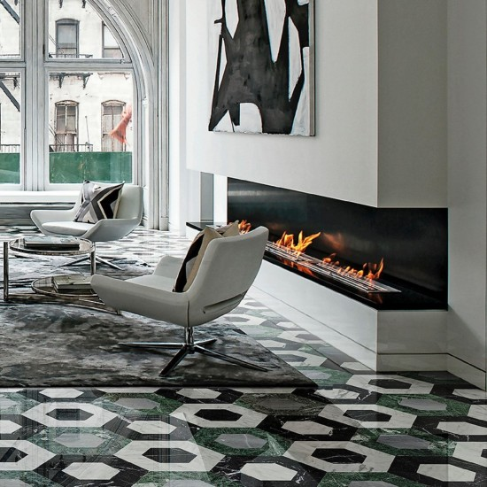 BISAZZA MARBLE COLLECTION FLAMINIA FORESTA